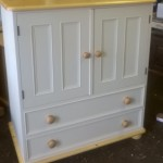 Painted TV Cabinet