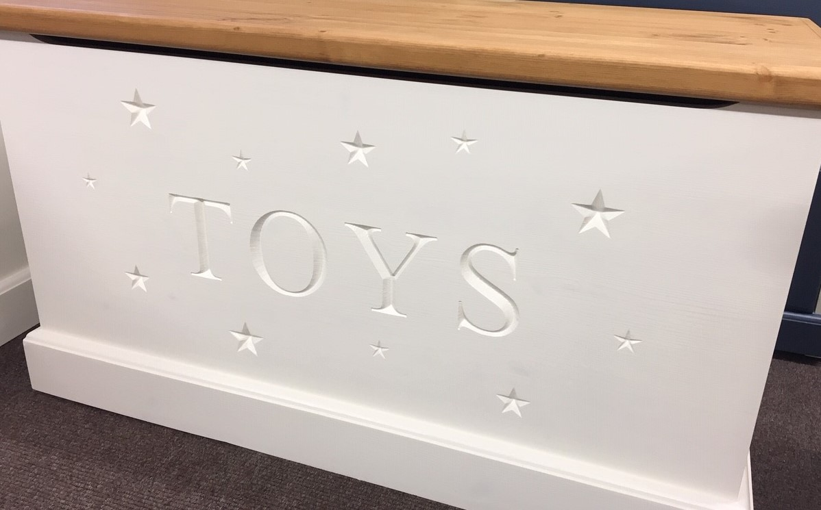 Scattered Stars Toy Box